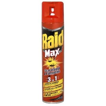 RAID SCAR. /FORM. MAX SPRAY 300 ML.