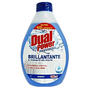 DUAL POWER BRILLANTANTE 300 ML. LAVASTOVIGLIE
