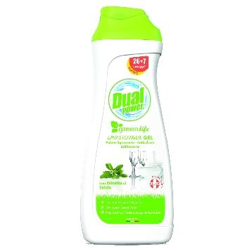 DUAL POWER GEL LAVASTOVIGLIE 660 ML. GREENLIFE SALVIA