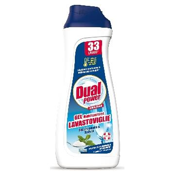 DUAL POWER GEL LAVASTOVIGLIE 660 ML. MULTIFUNZ. BICARBONATO