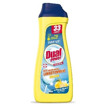 DUAL POWER GEL LAVASTOVIGLIE 660 ML. MULTIFUNZIONE LIMONE