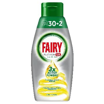 FAIRY GEL LAVASTOVIGLIE 650 ML. PLATINUM  LIMONE