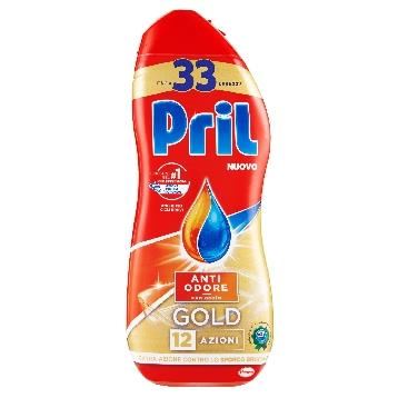PRIL GEL LAVASTOVIGLIE 600 ML. ACETO ANTI ODORE GOLD
