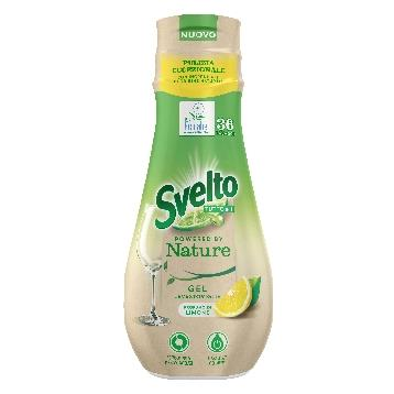 SVELTO GEL LAVASTOVIGLIE 640 ML. NATURE  LIMONE 36 LAV.