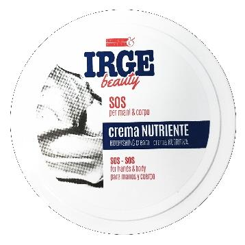 IRGE BEAUTY CREMA MANI VASO NUTRIENTE 200 ML.       CRE2954A