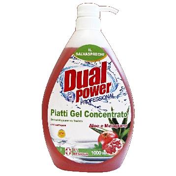 DUAL POWER PIATTI CONC. 1 LT. ALOE / MELOGRANO