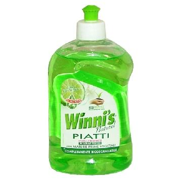 WINNI'S PIATTI 500 ML. CONCENTRATO LIME & FIORI DI MELA