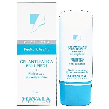 MAVALA PIEDI GEL ANTI-FATICA 75 ML.