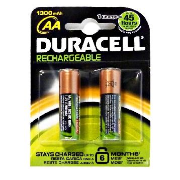 DURACELL RICARICABILE AA STILO 2 PZ.