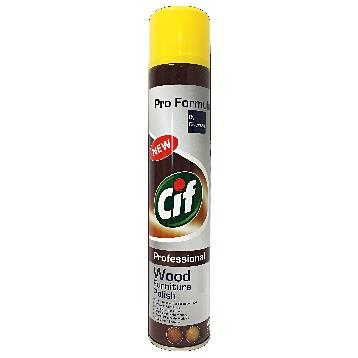 CIF PROFESS. LUCIDANTE LEGNO SPRAY 400 ML.