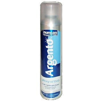 NUNCAS ARGENTO SPRAY PULITORE 250 ML.