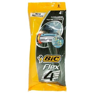 BIC RADI E GETTA FLEX 4LAME 4 PZ.