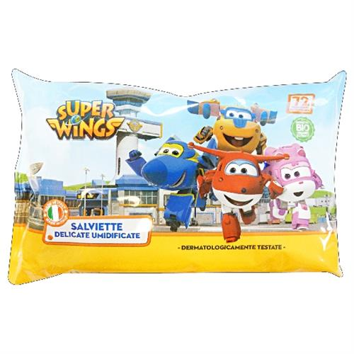 SUPER WINGS SALVIETTE BABY 72 PZ. DELICATE