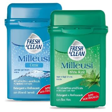 FRESH & CLEAN SALVIETTE MILLEUSI SCATOLA 40 PZ.