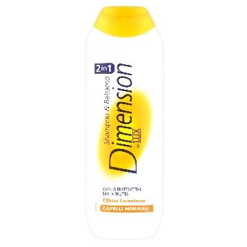 DIMENSION SHAMPOO 250 ML. NORMALI 2IN1 ARANCIO