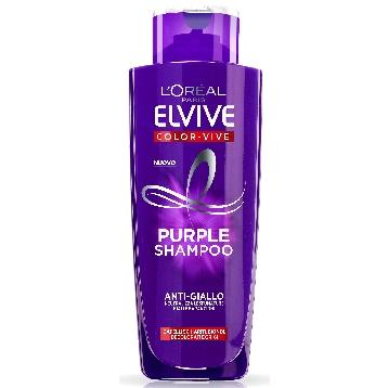 ELVIVE SHAMPOO 200 ML. PURPLE ANTI GIALLO