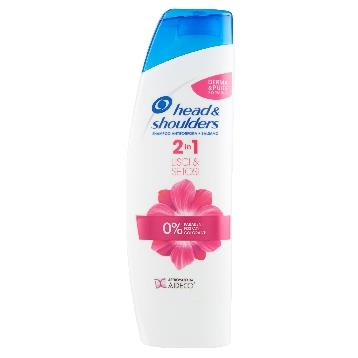 HEAD & SHOULDERS SHAMPOO 225 ML. LISCI & SETOSI 2IN1 ANTIFOR