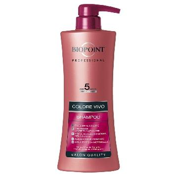 BIOPOINT SHAMPOO 400 ML. COLORE VIVO PROFESSIONAL PV03014
