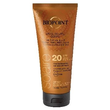 BIOPOINT SOLARE 200 ML. FP20 LATTE