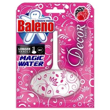 BALENO TAVOLETTA WC SOLIDA MAGIC WATER DECOR  ROSE