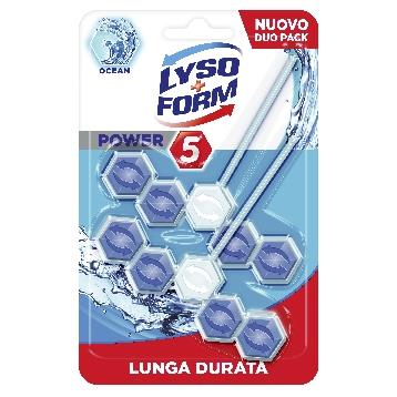 LYSOFORM TAVOLETTA SOLIDA WC POWER  OCEAN 2 PZ.