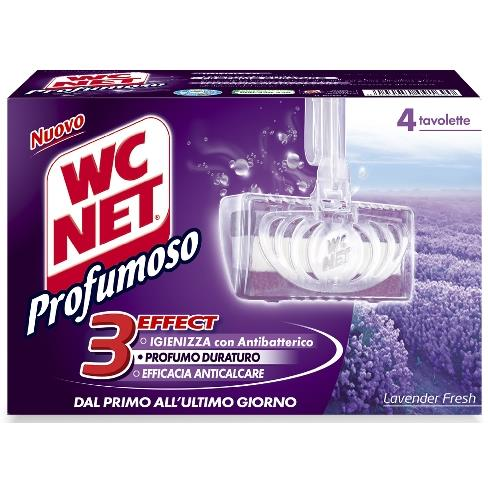 WC NET TAVOLETTA WC SOLIDE LAVANDA *4 PZ. 3EFFECT