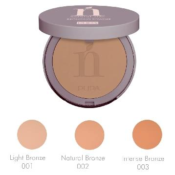 PUPA NATURAL SIDE BRONZING POWDER TERRA 01 Light Bronze *
