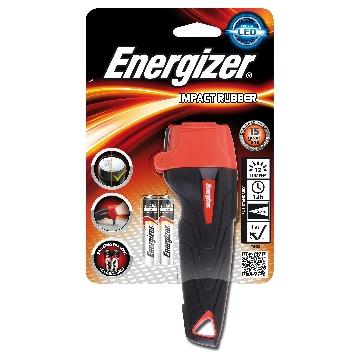 ENERGIZER TORCIA LED IMPACT RUBBER MANICO IN GOMMA + 2AAA
