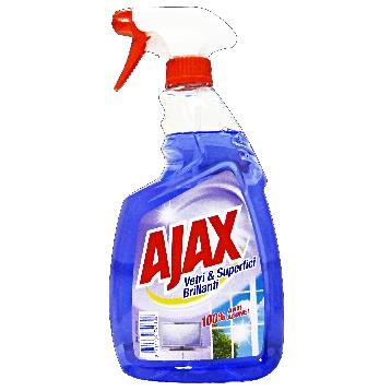 AJAX VETRI&SUPERFICI BRILLANTI TRIGGER 750 ML.