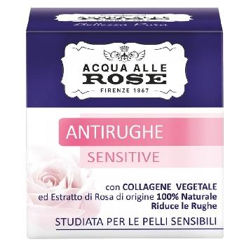 ACQUA ALLE ROSE ROBERT'S VISO  ANTIRUGHE CREMA 50 ML. SENSITI