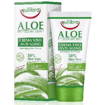 EQUILIBRA VISO  50 ML. ALOE CREMA  ANTI-ETA'