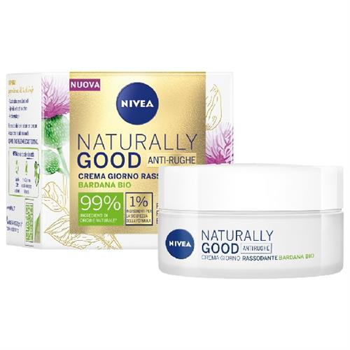 NIVEA VISO NATURALLY GOOD CREMA 50 ML. GIORNO RASSODAN. 86728