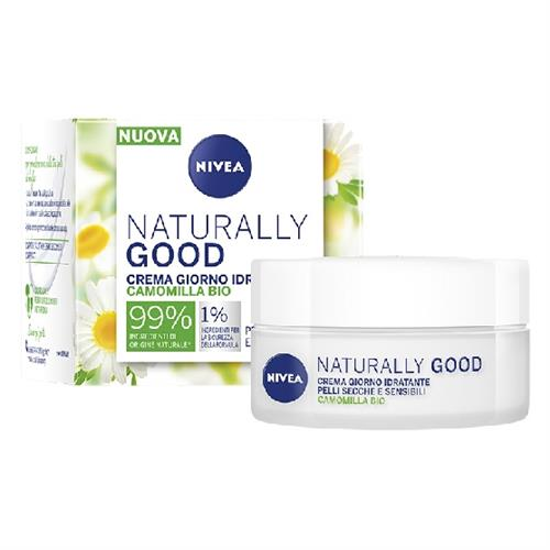 NIVEA VISO NATURALLY GOOD CREMA 50 ML. CAMOMILLA P. S.  87132