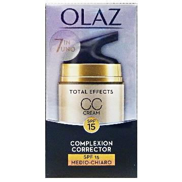 OLAZ VISO TOTAL EFFECTS CREMA CC CREAM  MEDIO / CHIARO