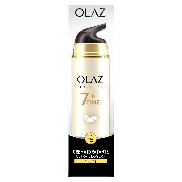 OLAZ VISO TOTAL EFFECTS CREMA 50 ML.  GIORNO LEGGERA SFP15